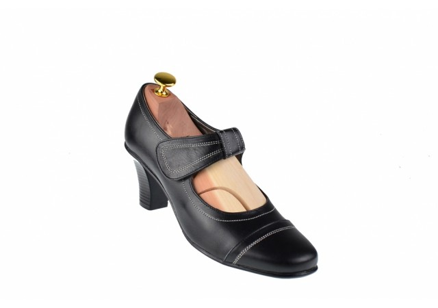 Oferta marimea 37, 38 - Pantofi dama eleganti din piele naturala - Made in Romania LP20N