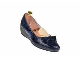 Pantofi dama casual din piele naturala  - Made in Romania L330BLC