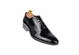 Pantofi barbati eleganti din piele naturala BLACK WOLF - cod 024CEURI