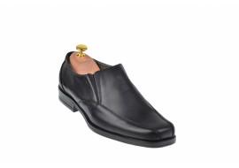 Pantofi barbati eleganti din piele naturala cu elastic VIC850N
