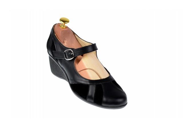 Oferta marimea 37, 39,  40 - Pantofi dama din piele naturala foarte comozi - LP13NN