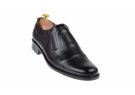 Pantofi barbati eleganti din piele naturala, cu elastic - P33NEL