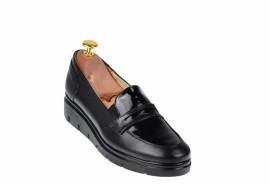 Pantofi dama casual din piele naturala, foarte comozi - MODMIONLAC