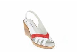 Lichidare marimea 39 - Sandale dama din piele naturala - Made in Romania LS88AR