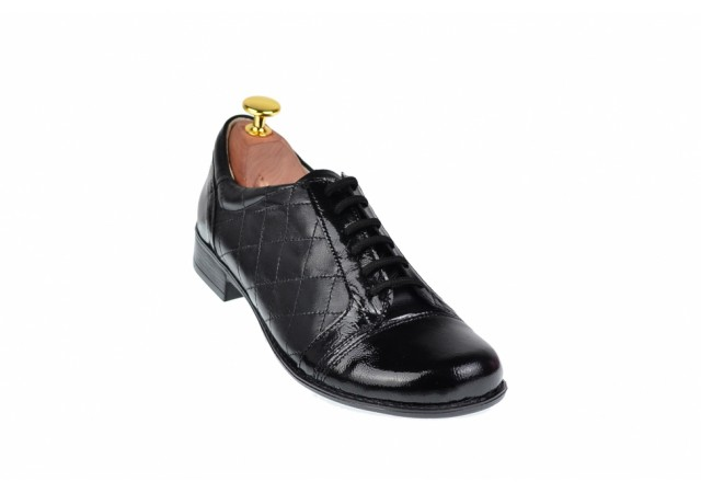 Pantofi casual dama din piele naturala - Made in Romania P53LACN