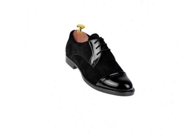 Pantofi dama casual din piele naturala P10NNLACVEL