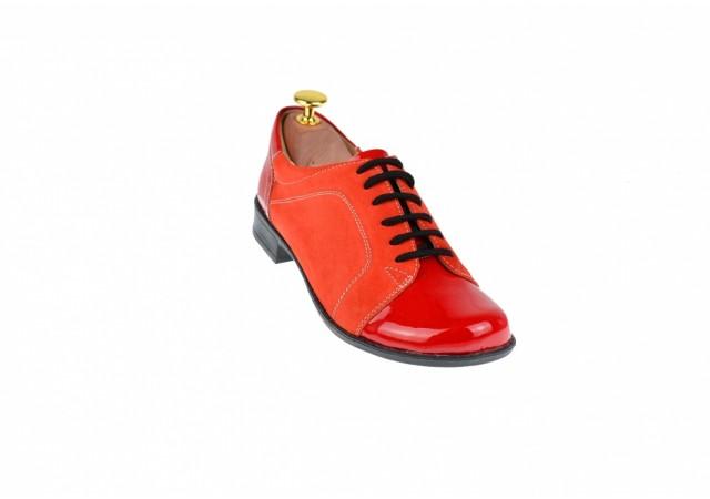 Oferta marimea 35, 36 - Pantofi dama, casual, din piele naturala - LP53RR