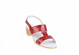 Lichidare marimea 40 - Sandale dama din piele naturala - Made in Romania LS7LR