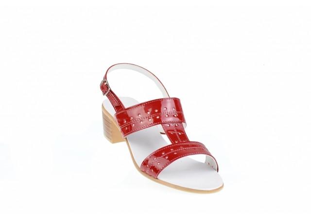 Sandale dama din piele naturala - Made in Romania S7LR