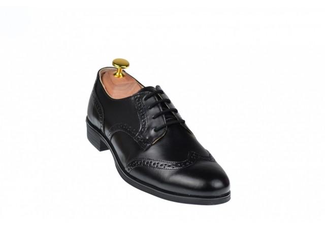 Lichidare stoc marimea 39 - Pantofi eleganti din piele naturala LVIC3250N
