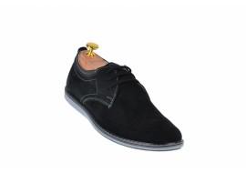Pantofi sport barbati din piele naturala intoarsa 338TENVELN
