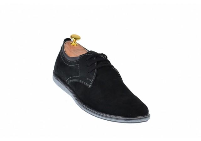 Pantofi casual - sport barbati din piele naturala intoarsa 338TENVELM