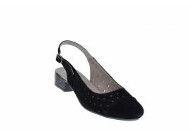 Pantofi dama casual din piele naturala din piele intoarsa NA252NS