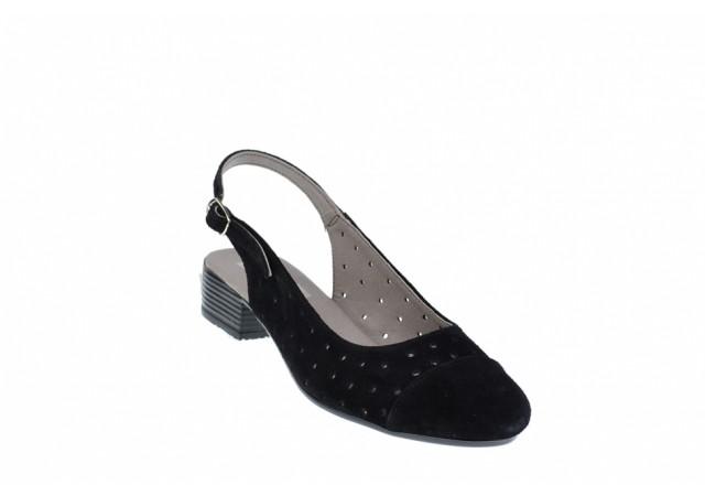 Lichidare marimea 38, 39 Pantofi dama casual din piele naturala din piele intoarsa LNA252NS