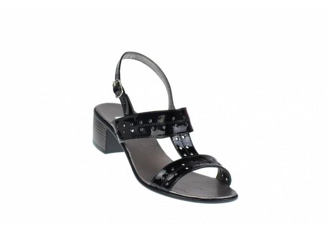 Sandale dama din piele naturala lacuita S7NLAC