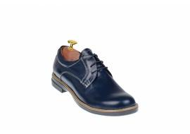 Pantofi dama casual din piele naturala, Made in Romania - P102BLM