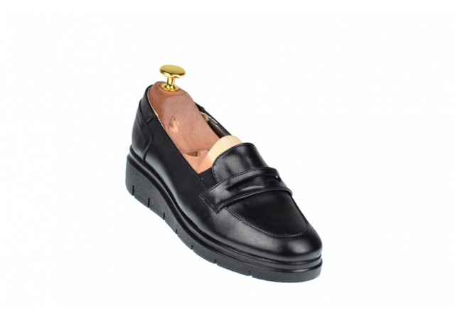 Pantofi dama casual din piele naturala, foarte comozi - MODMIONBOX