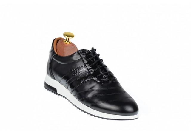 Oferta marimea 38 -  Pantofi dama sport din piele naturala, Made in Romania - LP2NBOX