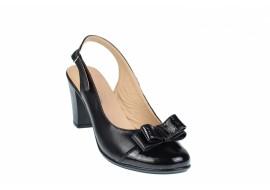 Pantofi dama eleganti din piele naturala - Made in Romania S100NLAC