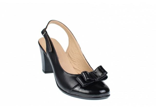 Lichidare marimea 38, 39 - Pantofi dama eleganti din piele naturala - Made in Romania LS100LACN