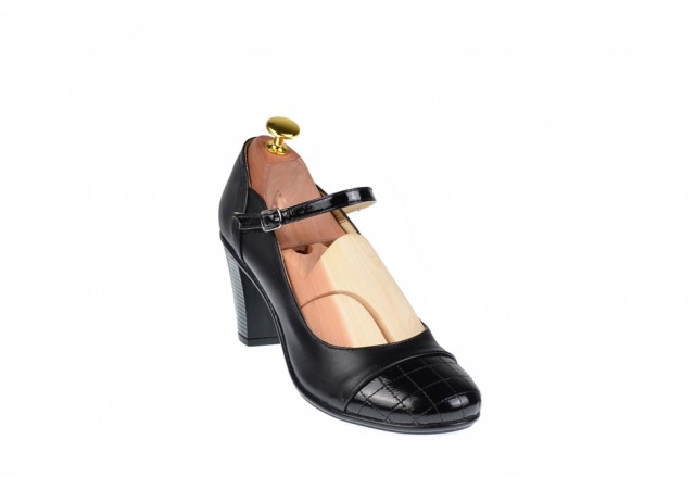 Lichidare marimea 39 Pantofi dama eleganti din piele naturala - LP13423NLAC