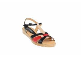 Sandale dama din piele naturala cu platforme - S51NBR