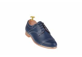 Pantofi casual pentru dama din piele naturala P995BL