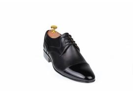 Pantofi de gala barbati, eleganti, din piele naturala -  016BOXLAC