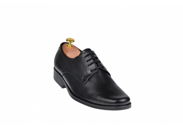 Pantofi barbati eleganti din piele naturala, cu siret - ADYSIRETN