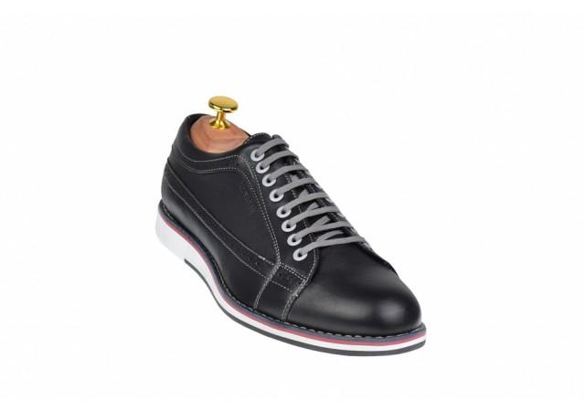 Marimea 42, 43, Pantofi barbati sport, casual din piele naturala - 598N