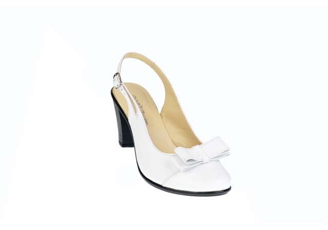 Pantofi dama eleganti din piele naturala, foarte comozi - S100A