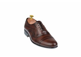 Pantofi barbati maro - eleganti din piele naturala - ELION5M