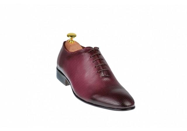 Pantofi barbati visinii, eleganti din piele naturala - 026VIS