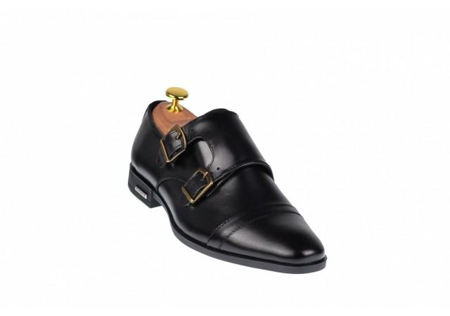 Pantofi barbati lux - eleganti din piele naturala  - ELION15N