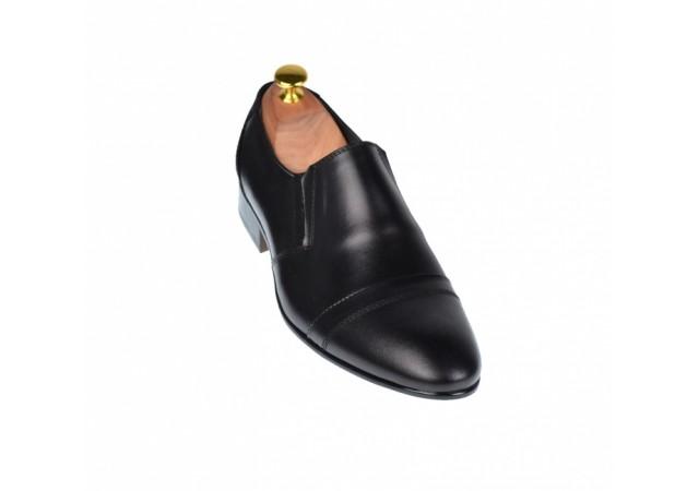 Pantofi barbati lux - eleganti din piele naturala  - ELION7N