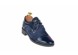 Oferta marimea 37 Pantofi dama casual din piele naturala, Made in Romania - P10LVELBLM2