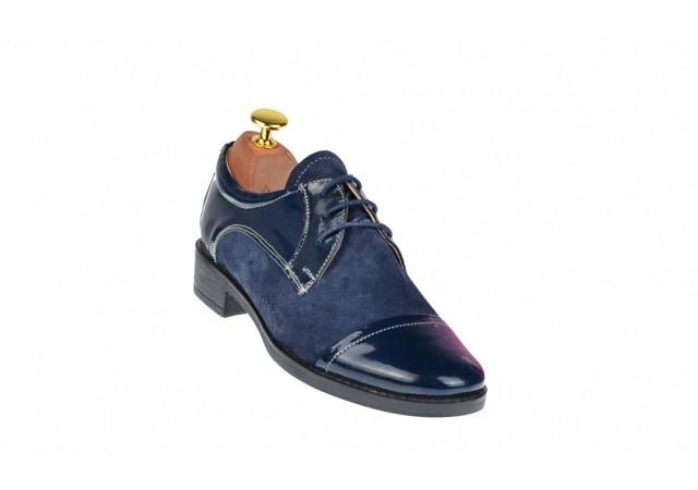 Pantofi dama casual din piele naturala, Made in Romania - P10LVELBLM2