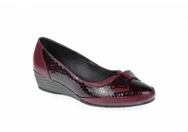 Oferta marimea 38 Pantofi dama casual din piele naturala  - Made in Romania L330VIS
