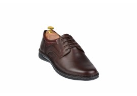 Oferta marimea 43 Pantofi casual barbati din piele naturala - VIC123ML