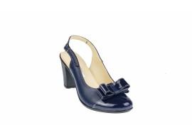 Oferta marimea 36, 40 Pantofi dama eleganti din piele naturala, foarte comozi - LS100BLBL