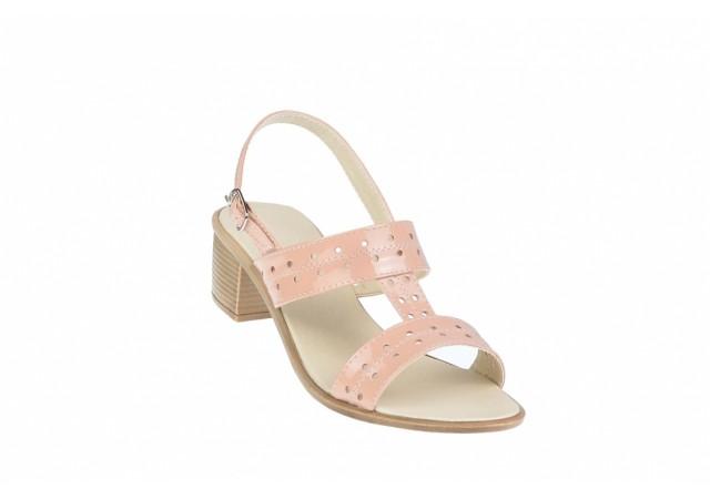Sandale dama din piele naturala - Made in Romania S7NUDLAC