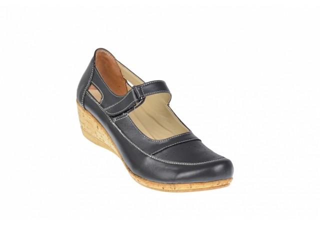 Oferta marimea 40 Pantofi dama din piele naturala LP9154GRIBOX