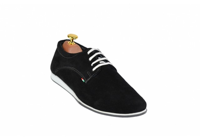 Pantofi barbati sport din piele naturala TENNVEL