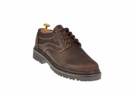 Pantofi barbati casual din piele naturala maro - MARK LUCIANIS 3M