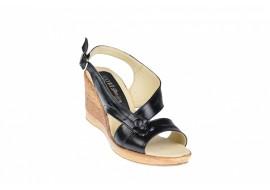 Oferta marimea 36, 39 Sandale dama din piele naturala, cu platforma LS10N