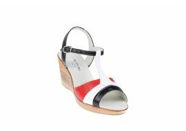Sandale dama din piele naturala DENY - S45R2AN