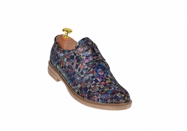 Oferta marimea 38 Pantofi dama casual de toamna, din piele naturala - LP102BCOLOR