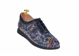 Pantofi dama casual de toamna, din piele naturala - P500COLORBLSP