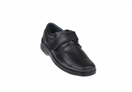 Pantofi barbati casual din piele naturala, inchidere cu scai, arici - SCAI