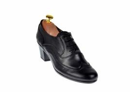 Oferta marimea 37 Pantofi dama din piele naturala box - LP11NBOX